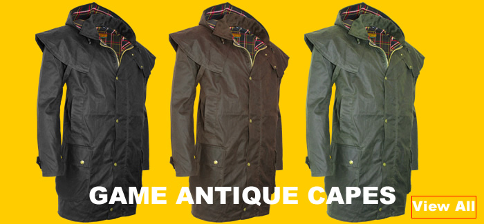 Game Coats and Jackets