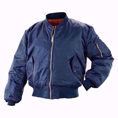 MA1 Flight Bomber Jacket Navy Blue