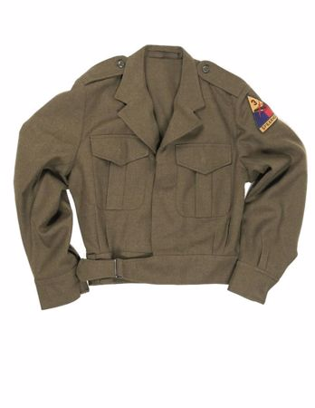 US Ike Jacket with Insignia