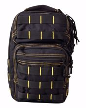 Mini MOLLE Recon Shoulder Pack - Black & Yellow