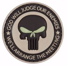 God Will Judge Our Enemies Patch