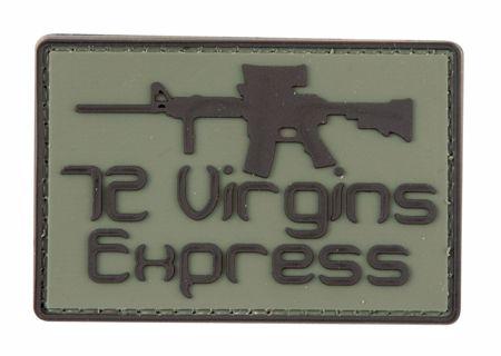 72 Virgins Express Patch