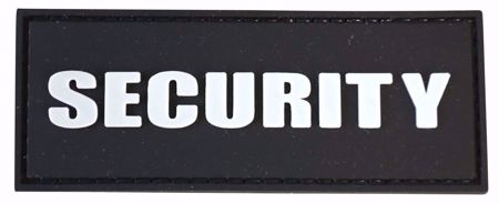 Security Velcro PVC Patch