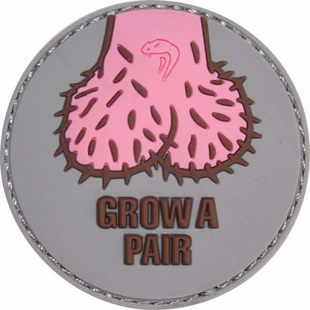 Morale Rubber Patch - Grow A Pair