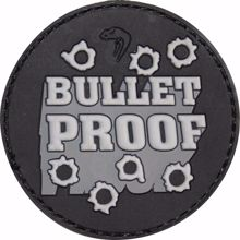 Morale Rubber Patch - Bullet Proof