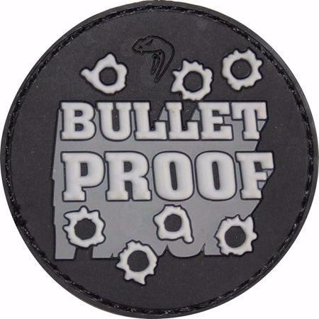 Morale Rubber Patch - Bullet Proof