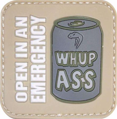 Viper WHUP ASS Rubber Patch (Open In An Emergency)