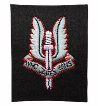 Mil-Com SAS Cloth Badge