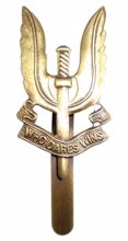 Mil-com SAS Metal Badge