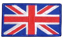Union Jack Cloth Badge