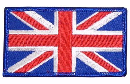 Union Jack Cloth Badge