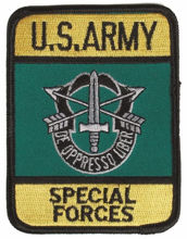 Mil-Tec US Special Forces Textile Badge
