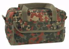 Flecktarn US Cotton Tanker Tool Bag Small