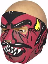 Neoprene Full Face Mask - Devil