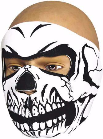 Viper Neoprene Full Face Mask - Skull