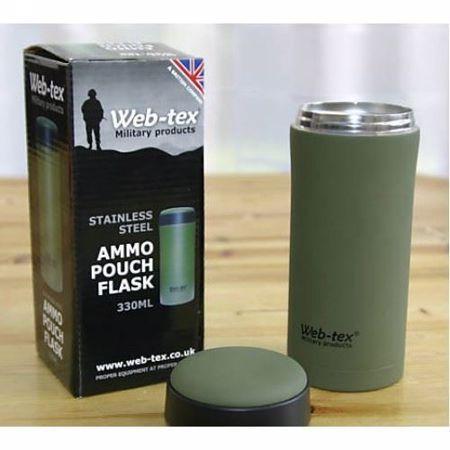 Web-Tex Ammo Pouch Flask