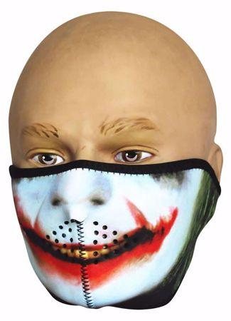 Neoprene Half Face Mask - Joker