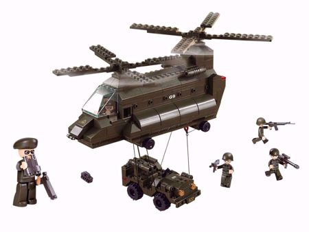 Building Blocks Army Serie Transport Helicopter - M38-B6600