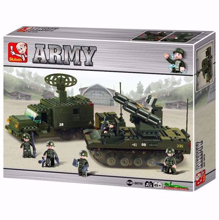 Building Blocks Army Serie Rocket Launch System - M38-B6700