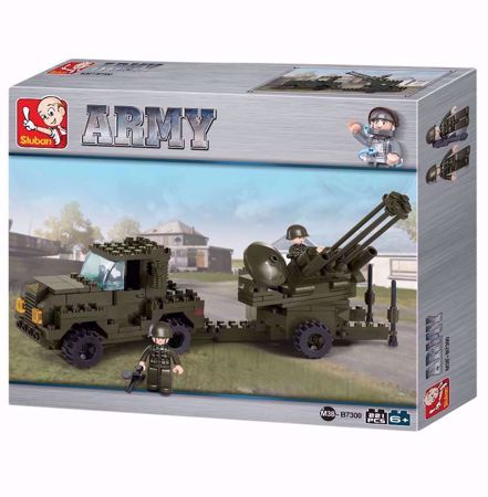 Building Blocks Army Serie Anti-Aircraft Gun - M38-B7300