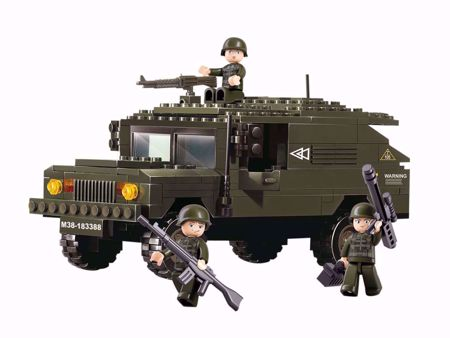 Building Blocks Army Serie SUV - M38-B9900