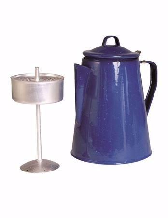 Enamel Coffee Pot With Percolator