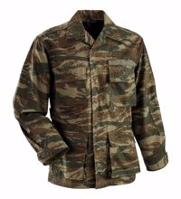 Greek Army BDU Field Jacket Lizard Camo