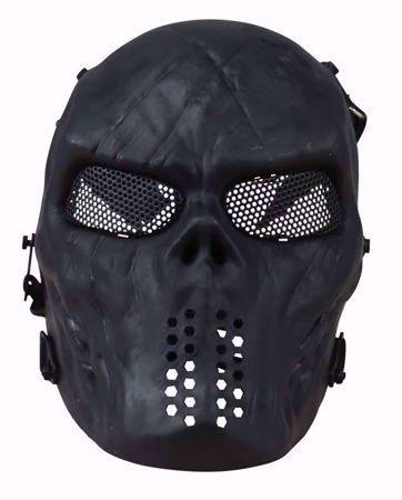 Kombat Skull Mesh Mask