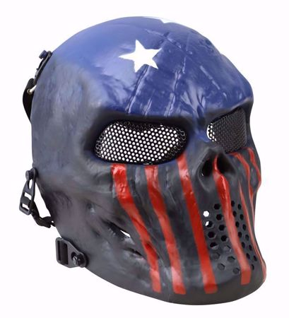 Tactical Skull Mesh Mask USA