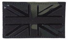 Kombat UK Laser Cut Patch BTP Black
