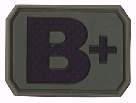 Kombat Blood Group Patch - B+