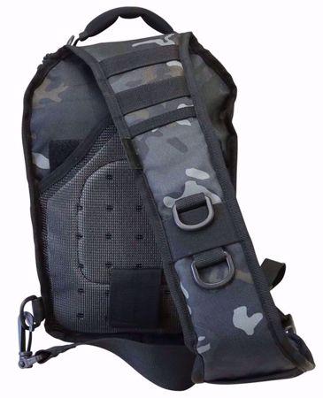 Mini MOLLE Recon Shoulder Pack BTP Black
