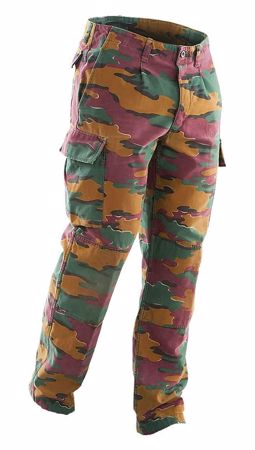 Belgian Army M90 Field Trousers Jigsaw Camo