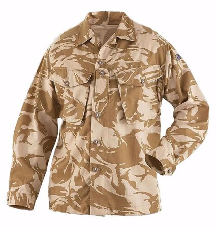 British Army Desert Camo Shirt