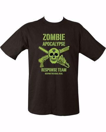 Zombie Apocalypse Response Team T-Shirt (Keep The Dead, Dead)