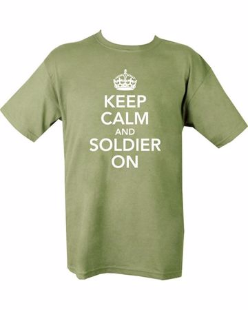 Keep Calm And Soldier On T-Shirt