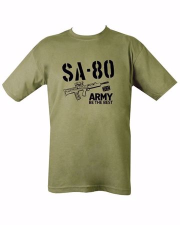 SA-80 T-Shirt - Army Be The Best