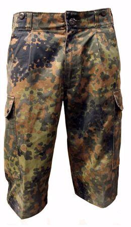 German Army Bermuda Shorts Flecktarn