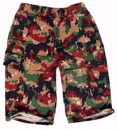 Swiss  Camo M83 Bermuda Shorts