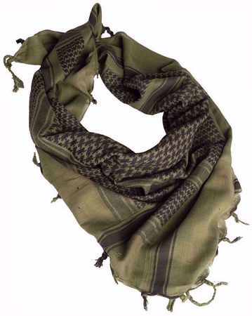 Shemagh Scarf Green & Black