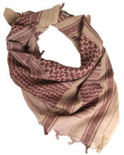 Shemagh Scarf Coyote & Brown