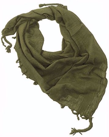 Army Shemagh Scarf Olive Green