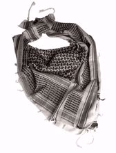 Mil-Tec Shemagh Scarf White & Black