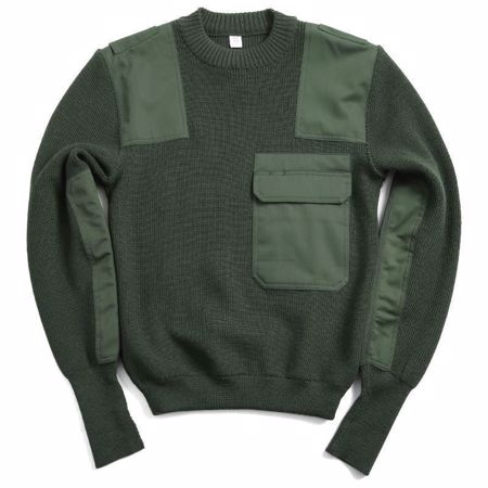 German Police Wool Jumper