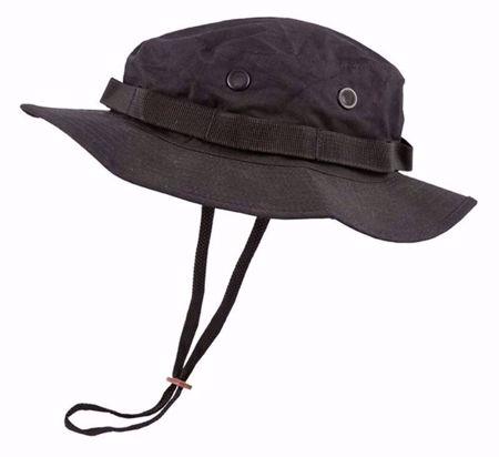 Boonie Hat US Style Jungle Hat - Black