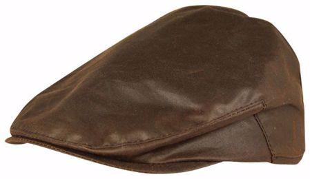 Jack Pyke Wax Flat Cap - Brown