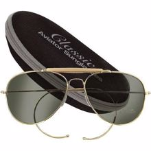 Mil-Com  Aviator Sunglasses With Case