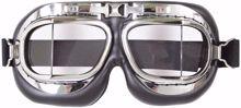 Mil-Com Flyers Goggles - Chrome
