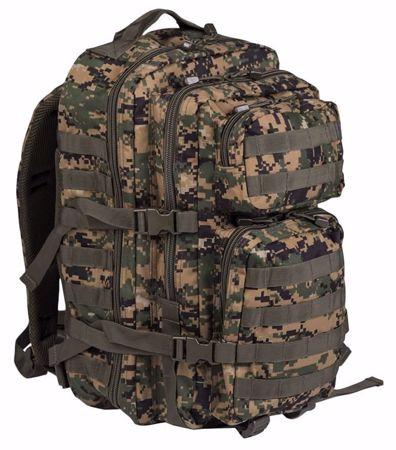 Digital WoodLand Backpack US Assault Pack Large