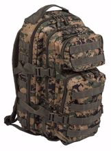 Mil-Tec Backpack US Assault Pack Small Digital Woodland